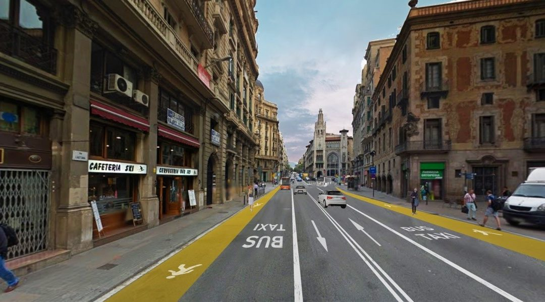 Barcelona crea i modifica carrils bus per adaptar-se a la sortida del confinament